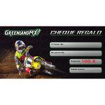 _Chèque Cadeau GreenlandMX 100    CHGMX-100   Greenland MX_