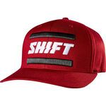 _Casquette Shift 3Lack Label Rouge | 19350-208-P | Greenland MX_