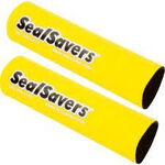 _Jeu de 2 soufflets de fourche en neoprene long jaune | SS-005L | Greenland MX_