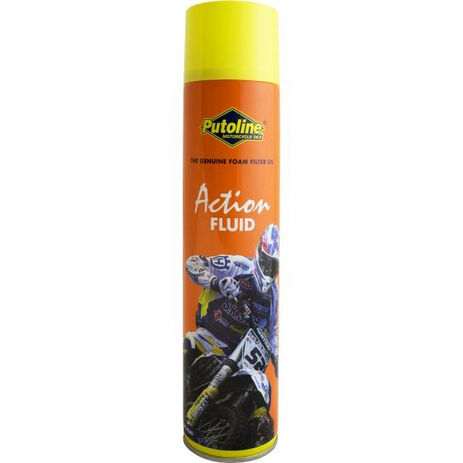_Huile Putoline Filtres à Air Action Fluid Spray 600 ml | PT70007 | Greenland MX_