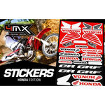 _Stickers Varies 4MX Honda | 01KITA606H | Greenland MX_