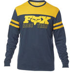 _T-shirt Fox Race Team LS Airline Bleu Marin | 22052-007-P | Greenland MX_