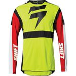 _Maillot Shift 3Lack Label Race Jaune Fluo | 24142-130 | Greenland MX_