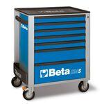 _Servante Mobile d'Atelier à Sept Tiroirs Beta Tools   C24S-7-B-P   Greenland MX_