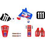 _Kit Autocollants Tecnosel Replica Team Honda Pepsi 1994 CR 125 93-94 CR 250 92-94 | 21V06 | Greenland MX_