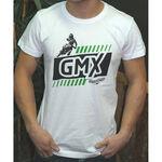 _T-shirt GMX Dirt Rider Blanc | PU-TGMXDRWT | Greenland MX_