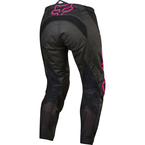 _Pantalon Femme Fox 180 Noir/Rose | 17274-285 | Greenland MX_