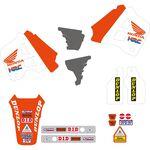 _Kit Deco + Housse de Selle Tecnosel Replica Team Honda 1991 USA CR 125 91-92 250 90-91   81V01   Greenland MX_