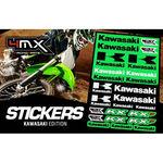 _Stickers Varies 4MX Kawasaki | 01KITA606KW | Greenland MX_