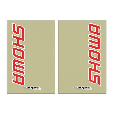_Autocollants Fourche SHOWA Transparent | 5045S | Greenland MX_