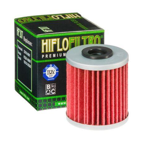 _Filtre a Huile Hiflofiltro KX 250 F 04-18 KX 450 F 16-19 RMZ 250 04-14 RMZ 450 05-14 | HF207 | Greenland MX_