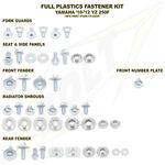 _Kit Vis plastiques avec entretoises Yamaha YZ 250 F 10-13 WR 450 F 12-13   BO-YAM-101002   Greenland MX_