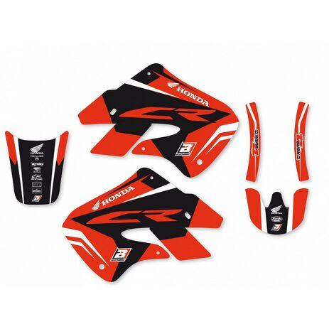 _Kit Deco Blackbird Dream 4 Honda CR 125 98-99 CR 250 97-99 | 2139N | Greenland MX_