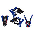 _Kit Autocollants Blackbird Dream 4 Yamaha YZ 125/250 02-14 | 2231N | Greenland MX_