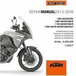 _CD Manuel de Réparation KTM 1050/1090/1190/1290 Adventure 13-18 | 3206329 | Greenland MX_