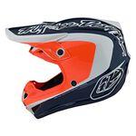_Casque Troy Lee Designs SE4 Corsa Blue Marin/Orange | 109133011-P | Greenland MX_