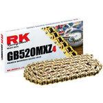 _Chaîne RK 520 MXZ4 Super Renforcee 120 Maillons Or | HB752033120G | Greenland MX_