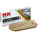 _Chaîne RK 520 MXZ4 Super Renforcee 120 Maillons Or | HB752033120G | Greenland MX_
