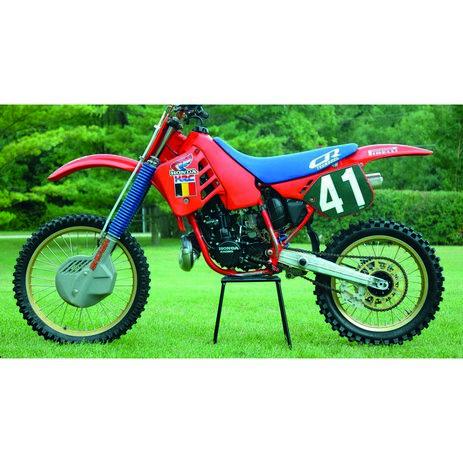 _Kit Autocollants Tecnosel Replica Team Honda 1987 CR 125 87-88 CR 250 1987 | 21V08 | Greenland MX_