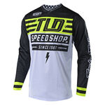 _Maillot Troy Lee Designs GP Air Bolt Jaune Fluo | 304190500 | Greenland MX_