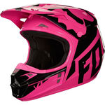 _Casque Fox V1 Race 2018 Rose | 19532-170-P | Greenland MX_