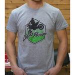 _T-shirt GMX Dirt Passion Gris | PU-TGMXDPGY | Greenland MX_