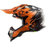 _Casque LS2 MX470 Subverter Emperor Noir/Orange | 404702252P | Greenland MX_