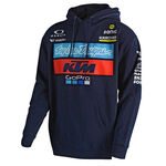 _Sweat à Capuche Troy Lee Designs  KTM Bleu Marine | 731644370 | Greenland MX_