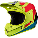 _Casque Shift White Label Tarmac Jaune Fluor | 17232-130 | Greenland MX_
