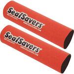 _Jeu de 2 soufflets de fourche en neoprene long rouge | SS-003L | Greenland MX_