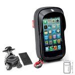 _Porte Smartphone Universel Givi 67x130 mm | S955B | Greenland MX_