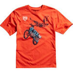 _T-shirt enfant Fox Moto Giant Orange | 13270-472-P | Greenland MX_