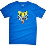 _T-Shirt Enfant Fox Lyruh Bleu | 21287-188-KP | Greenland MX_