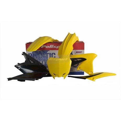 _Kit Plastiques Polisport Suzuki RMZ 450 08-17 | 90726 | Greenland MX_