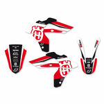_Kit Autocollants Blackbird Dream 4 Husqvarna WR 250/300 06-13 CR/WR 125 06-08 | 2609N-01 | Greenland MX_