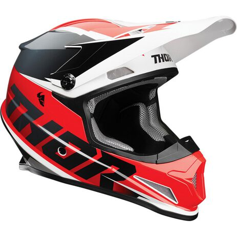 _Casque Thor Sector Fader | 0110-67RN-P | Greenland MX_