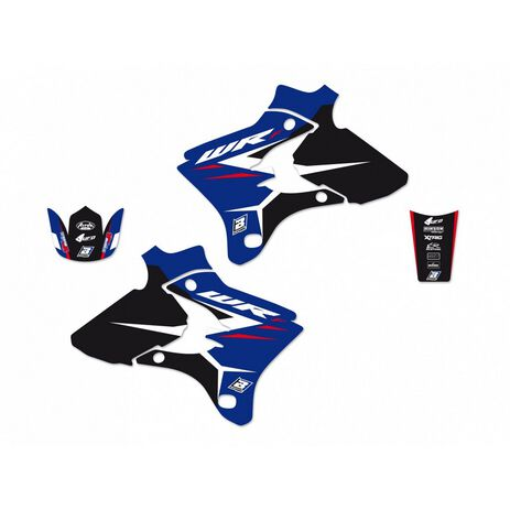 _Kit Autocollants Blackbird Dream 4 Yamaha WR 250/450 F 03-04 | 2217N | Greenland MX_