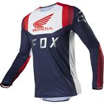 _Maillot Fox Flexair Honda Bleu Marine/Rouge | 23912-248 | Greenland MX_