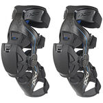 _Genouilleres orthopediques POD Active K8 Carbon Bleu/Noir | K8013-01 | Greenland MX_