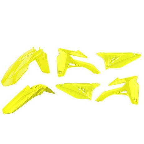 _Kit Plastiques Polisport Sherco SE-R/SEF-R 12-15 Jaune Fluo | 90802 | Greenland MX_