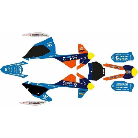 _Kit autocollant complète Go Pro KTM SX 16-.. EXC 17-.. | SK-KT16GP18 | Greenland MX_