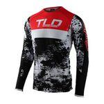 _Maillot Troy Lee Designs Ultra SE Noir/Rouge | 354893002-P | Greenland MX_