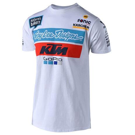 _T-Shirt Troy Lee Designs KTM Team Blanc   701644170   Greenland MX_