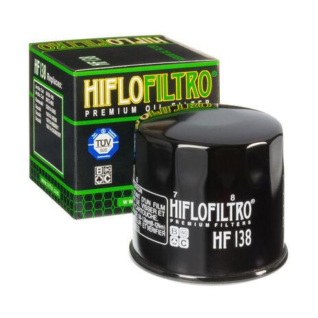 _Filtre a Huile Hiflofiltro Suzuki KLT-A400 09-16 | HF138 | Greenland MX_