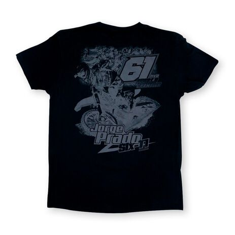 _T-shirt Enfant Jorge Prado Action Noir | JP61-200YBK | Greenland MX_