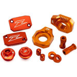 _Kit d'accessoires Aluminium Zeta Racing KTM SX 250 13-18 SX-F 250/350/450 13-18 Orange | ZE51-2443 | Greenland MX_