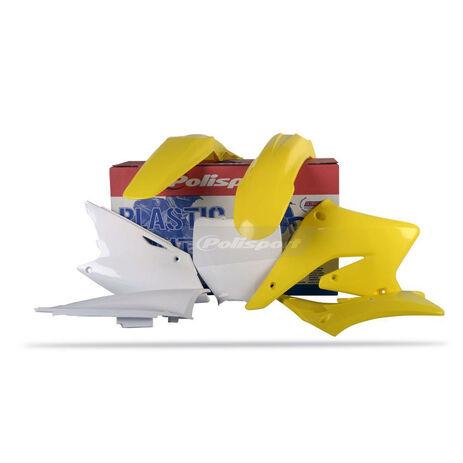 _Kit Plastiques Polisport Suzuki RMZ 250 04-06   90096   Greenland MX_