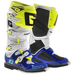 _Bottes Gaerne SG12 Limited Edition Blanc/Blu/Jaune Fluor | 2174-050 | Greenland MX_