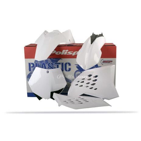 _Kit Plastiques Polisport KTM SX 07-10 SXF 07-10 EXC 08-11 EXCF 08-11 Blanc | 90128 | Greenland MX_