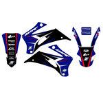_Kit Deco Blackbird Dream 4 Yamaha WR 250 F 07-14 WR 450 F 07-11 | 2234N | Greenland MX_